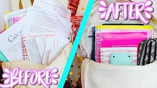 Backpack Organization Tips + Advice | How To Stay Organized Throughout the School Year