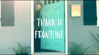 All jokes aside, it's time to thank the brave men and women working on the frontline to help save us all.  While most of us hold up in the safety of our homes, many are risking their lives everyday on the frontline for the greater good.  For that, we say #ThankUFrontline.  Share with someone you love who deserves Thanks.--Love, Chris.   (I asked fans to crowdsource videos of the unsung hero frontline workers they're encountering during this wild time.  Thanks for sending to me and being a part of this! )  Stream on Spotify: https://spoti.fi/2WJmcEX Stream on Apple Music: http://bit.ly/chrismannapplemusic  Stream on Pandora: https://pandora.app.link/08iNg5iRk5 Press/Booking: admin@chrismannmusic.com  Follow Me:  * Instagram: https://www.instagram.com/chrismannmusic/ * Facebook: https://www.facebook.com/chrismannmusic/ * Twitter: https://twitter.com/iamchrismann  * Medium: https://medium.com/@IamChrisMann * Web: http://www.chrismannmusic.com/ * Newsletter: https://bit.ly/ChrisMannEmail * GooglePlay: http://bit.ly/ChrisMannGPlay * Chris Mann Store: http://bit.ly/ChrisMannStore