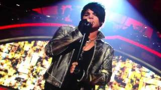 Adam Lambert Singing Ring of Fire