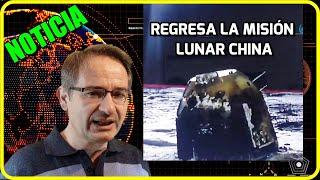 Lo que ACABA de HACER CHINA en la LUNA iguala a EE.UU y URSS ¡Éxito de la Misión Chang'e-5!