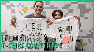 Win a signed Life is Strange 2 T-shirt by Gonzalo (Sean) or Roman (Daniel)!