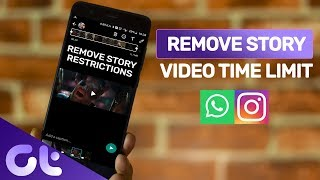 How to Upload Long Videos on WhatsApp Status and Instagram Story: Android | Guiding Tech