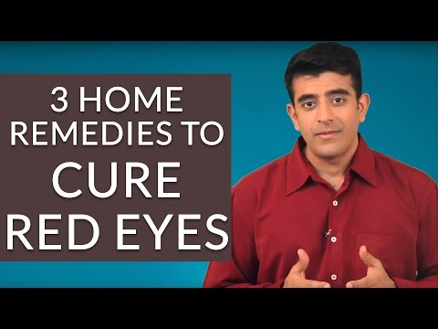 3 Effective Home Remedies To GET RID Of RED EYES
