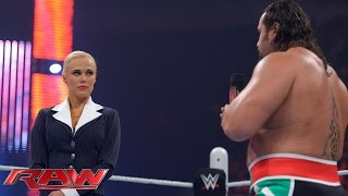 Rusev tries to patch things up with Lana: Raw, May 25, 2015