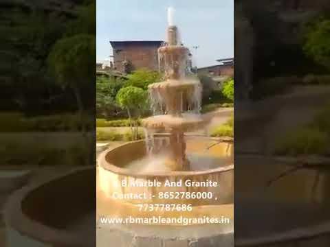 Yellow Stone Fountain