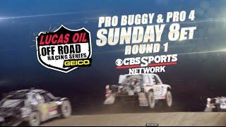 Pro Buggy/Pro 4 Round 1 Promo