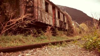 preview picture of video 'Canfranc Old Railway Station - Vieja Estación de Tren'