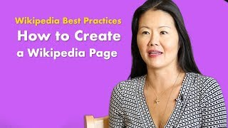 How to create a Wikipedia article