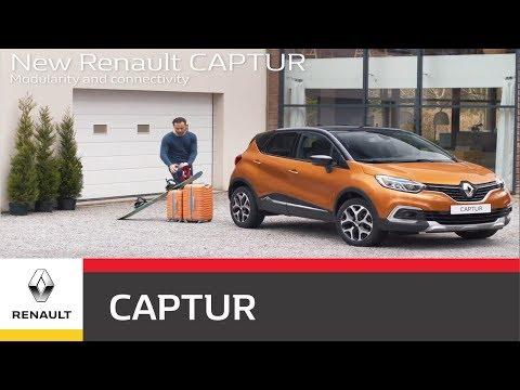 Renault  Captur Паркетник класса J - рекламное видео 5