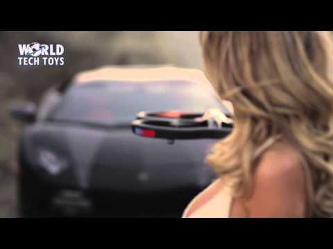Panther Spy Quad Drone VS Lamborghini Aventador Presented by World Tech Toys