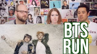 BTS - RUN - Music Video REACTION!! 방탄소년단