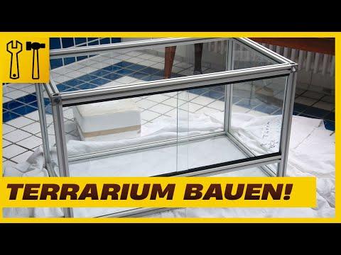 Aluminium-Glasterrarium selbst bauen - Terrarium selber bauen (Terrarium-Serie 02)