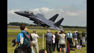 RIAT Departures  2019, and yes Spectacular!! and some colorful Tails.