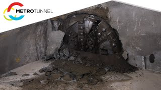 TBM Alice breaks ground at Town Hall Station