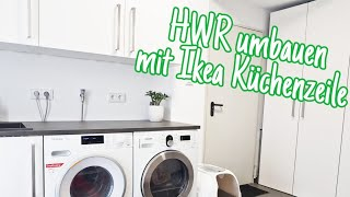 Weekly Vlog  HWR umbauen  Ikea Küche für Waschraum  Hager Event  KNX  Die Siwuchins