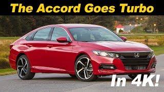 2018 Honda Accord 2.0T Review - America