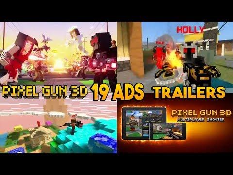 Pixel Gun 3D - 19 ADS TRAILERS