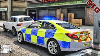 VAUXHALL INSIGNIA  BRITISH PATROL!!!  #140 (GTA 5 REAL LIFE PC POLICE MOD)