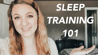 HOW I GOT MY 6 WEEK OLD TO SLEEP THROUGH THE NIGHT (SLEEP TRAINING)
