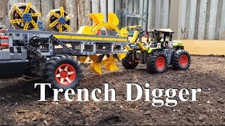 Trench Digger Lego Technic 42054 Claas Xerion 5000 Trac VC