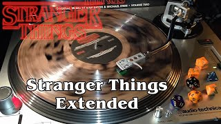 Stranger Things Vol. 2 - Stranger Things Extended - Salt & Pepper Clear Smoke Vinyl LP