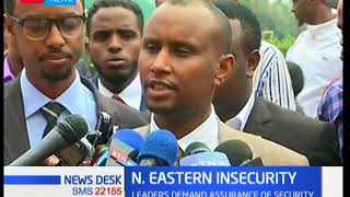 Leaders from North Eastern want the government to assure teachers of security as TSC recruits