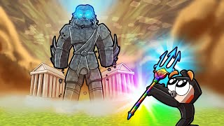How to Bless POSEIDON's GOD Trident in Scramble Craft! (Minecraft)