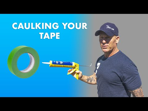 WHY Caulk Your Tape?!