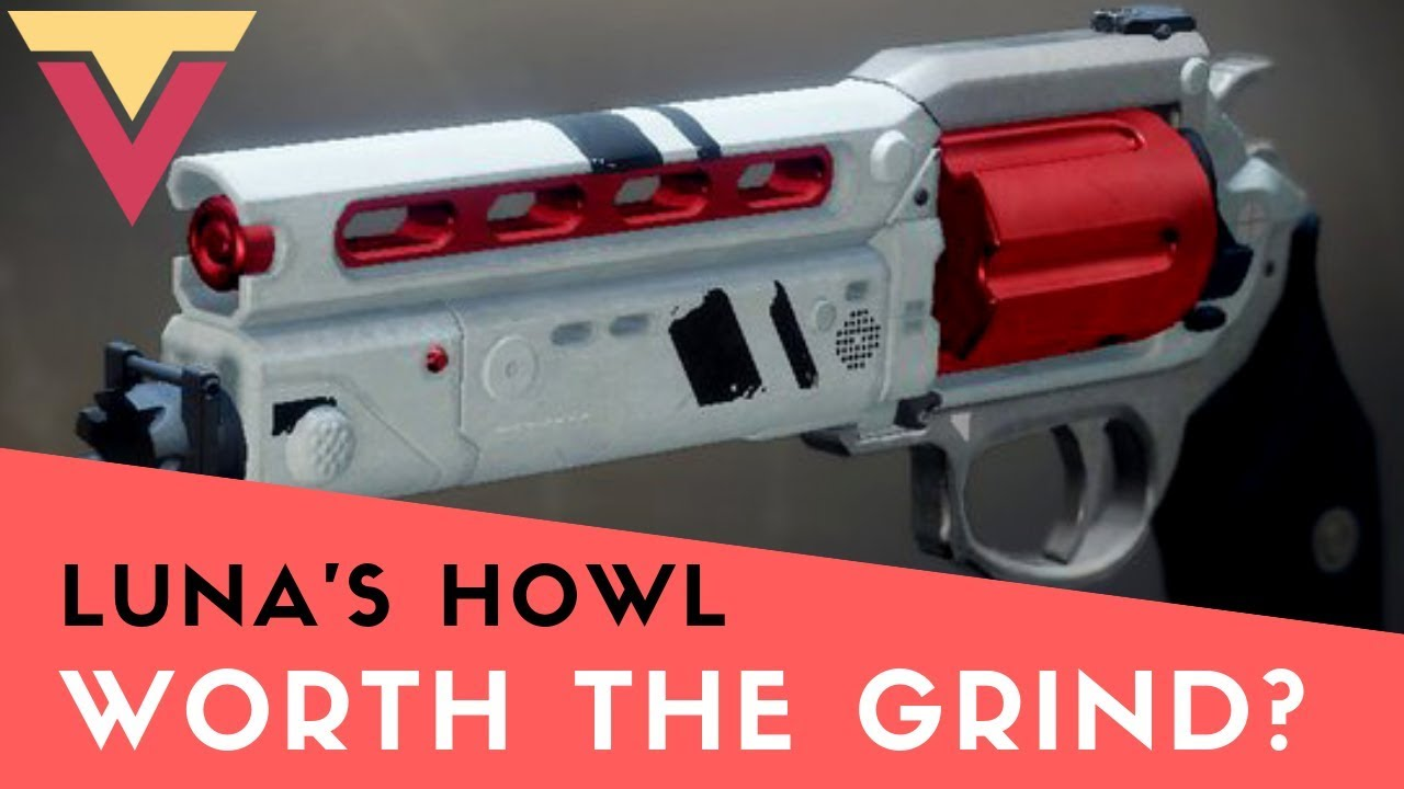 Luna's Howl + Gift from the Cryptarch boost carry