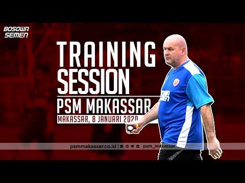 Latihan Perdana oleh Nakhoda Baru   PSM Makassar