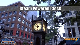Steam Powered Clock | Telling Time with Steam