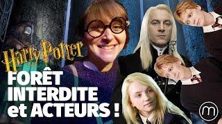 Rencontre les acteurs d'Harry Potter dans la Forêt Interdite — Fannyfique