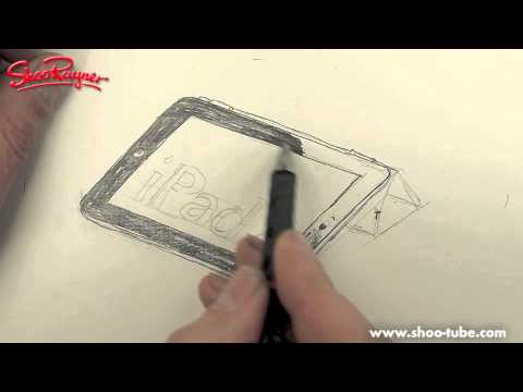 how to draw a ipad 2