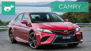 2018 Toyota Camry Review: V6, Hybrid and 2.5L driven