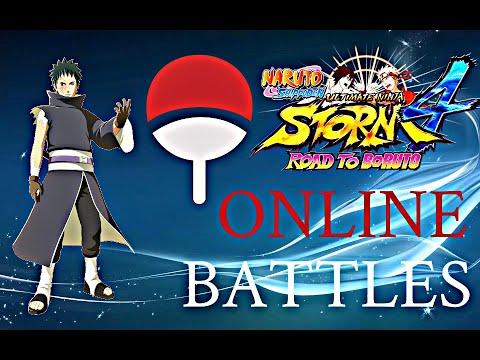 OBITO UCHIHA RAMPAGING GAMEPLAY ONLINE [naruto shippuden ultimate ninja  storm 4 road to boruto] - Greep Sky