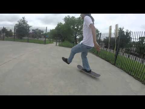 Skate Montage Springtime Skatepark
