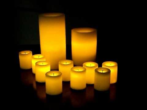 velas sin llama de cera real SENSOH