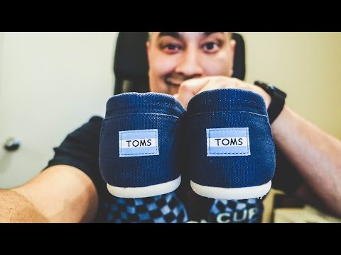 TOMS SHOES ARE SO COMFORTABLE