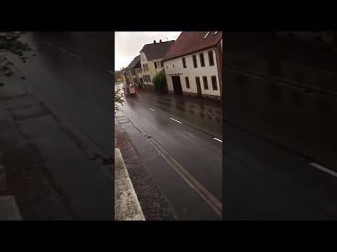 Einsatzfahrt Feuerwehr Blieskastel Loeschbezirk Webenheim LF 16 TS und GW M
