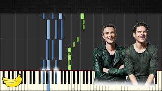 Lucas & Steve - Up Till Dawn || Piano Tutorial (Synthesia)