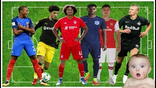 Top 10 youngest players in football