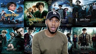 WATCHING HARRY POTTER FOR THE FIRST TIME ( IN ONE DAY )