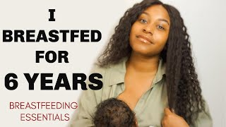 Breastfeeding Essentials and Tips to Make It Easier | From a Mom of 4