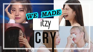 WE MADE ITZY CRY