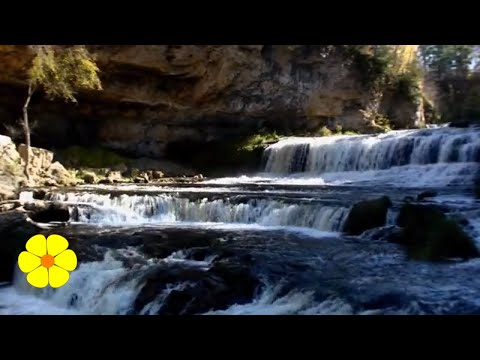 2 HOURS Dropping Waterfalls How to Relax Meditate Sleep Cascada de agua Meditar Dormir Relajare
