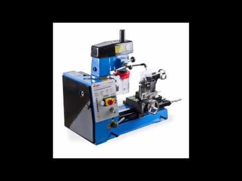 Drehbank Fräsmaschine Bohrmaschine - drehen fräsen bohren gewindeschneiden