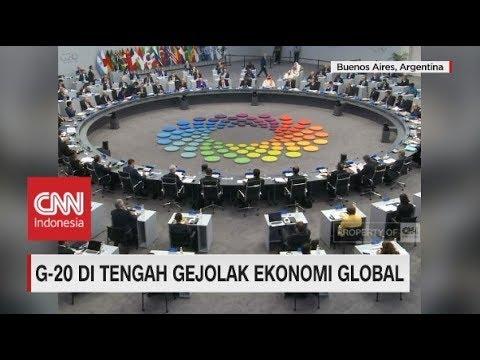 G-20 Ditengah Gejolak Ekonomi Global