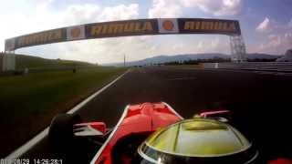 preview picture of video 'Autodrom Most (onboard) Formula Renault 2.0'