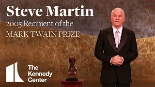 Steve Martin Acceptance Speech | 2005 Mark Twain Prize