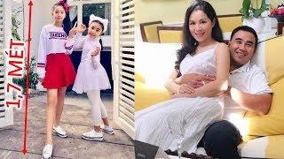 Con gái MC Quyền Linh 13 tuổi cao 1m7 xinh như Hoa Hậu - TIN GIẢI TRÍ